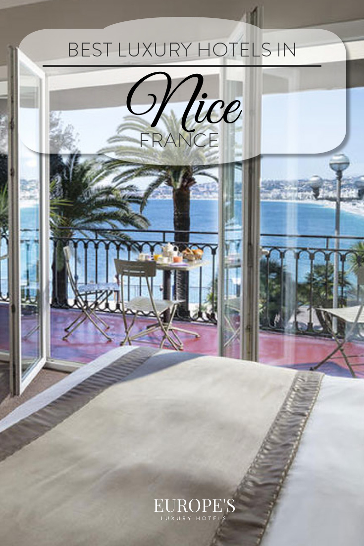 Nice, France | Looking for where to stay in Nice? Here are a few of our top picks for the best and most luxurious hotels in the area.