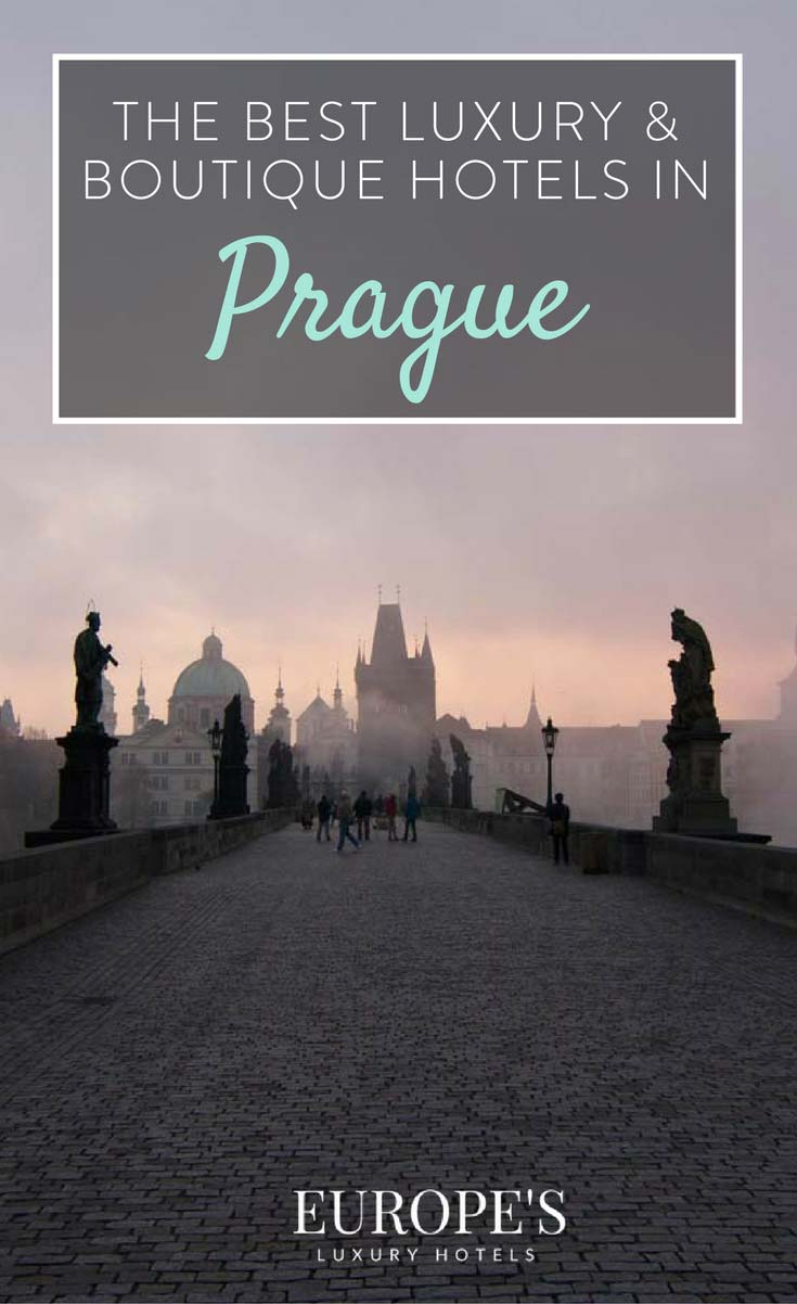 Best luxury and boutique hotels in prague for Top luxury boutique hotels