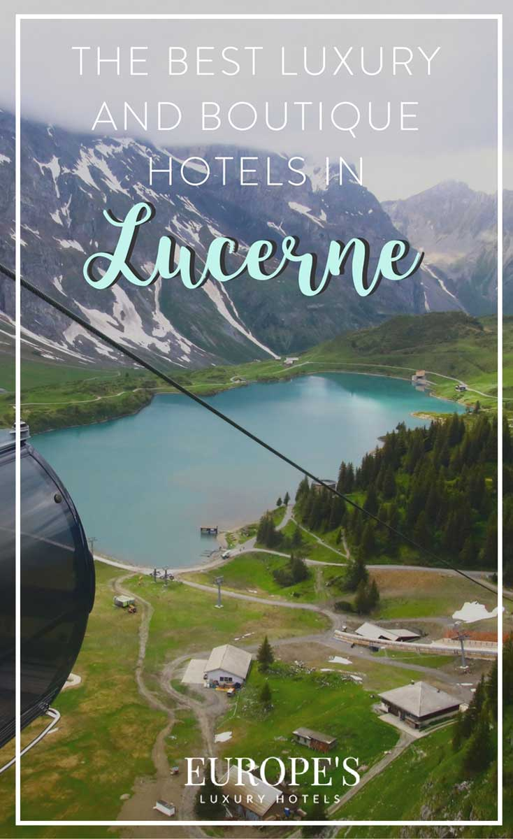 Hotels in Lucerne | Looking for the best places to stay in Lucerne Switzerland? Here's my top picks for the best hotels. From luxury hotels to boutique stays, this is the ultimate guide to traveling Switzerland in style