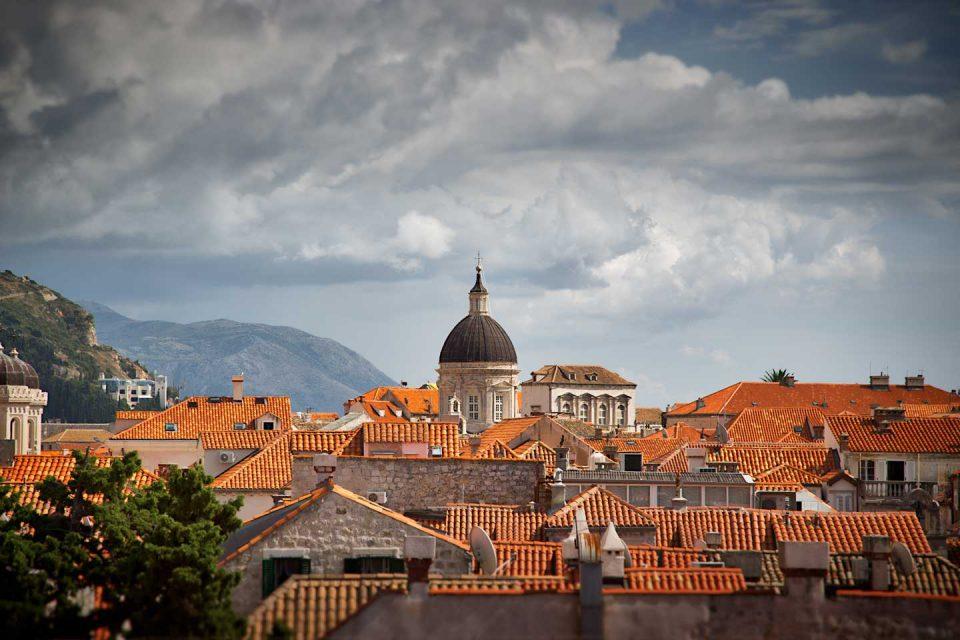 dubrovnik city view