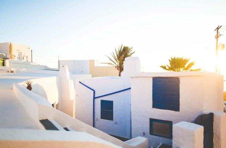 best luxury hotels in santorini