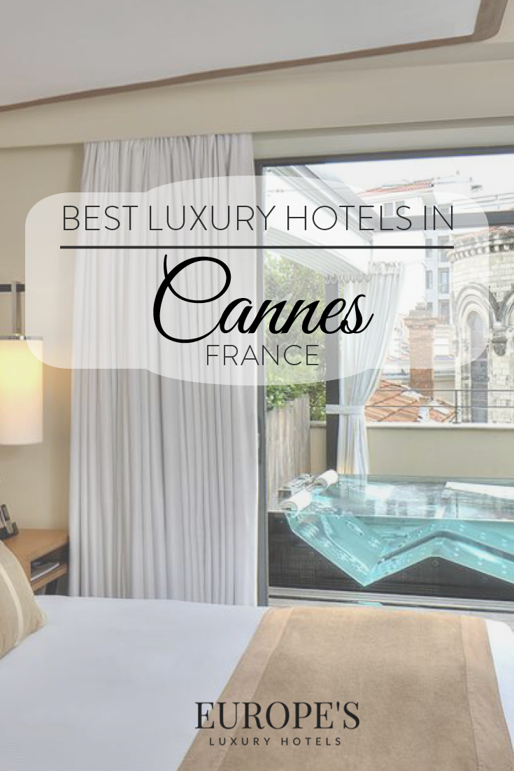 Cannes, France | Looking for luxurious places to stay for your getaway in Cannes? Check out these stunning hotels that are worth visiting while in the area.